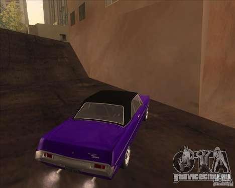 1971 Plymouth Scamp для GTA San Andreas вид справа