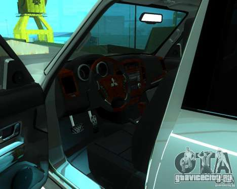Mitsubishi Pajero STR I для GTA San Andreas вид справа