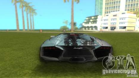 Lamborghini Reventon для GTA Vice City вид слева