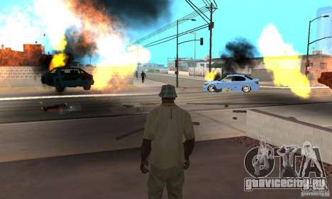 Hot adrenaline effects v1.0 для GTA San Andreas восьмой скриншот