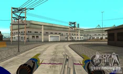 Star Wars Racer для GTA San Andreas вид справа