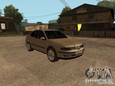 Seat Toledo 1.9 1999 для GTA San Andreas вид сзади