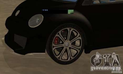 Volkswagen Bettle Tuning для GTA San Andreas вид сзади