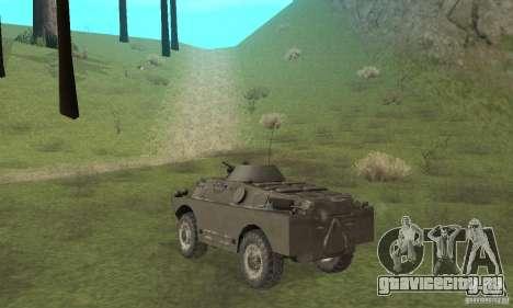БРДМ-2 Зимний вариант для GTA San Andreas вид справа