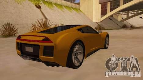 Saleen S5S Raptor 2010 для GTA San Andreas вид справа
