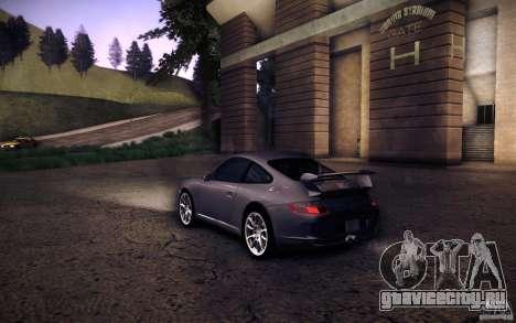 Porsche 911 GT3 (997) 2007 для GTA San Andreas вид слева