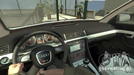 Audi A4 Avant beta для GTA 4 вид сзади
