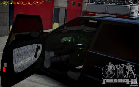 ВАЗ 2115 для GTA 4 вид сзади слева