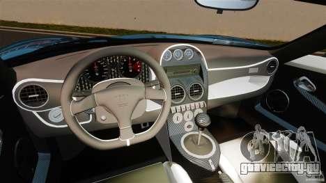 Noble M600 Bicolore 2010 для GTA 4 вид сзади