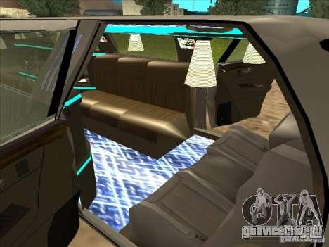 Cadillac DTS 2008 Limousine для GTA San Andreas вид сзади слева