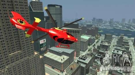 Medicopter 117 для GTA 4 вид справа