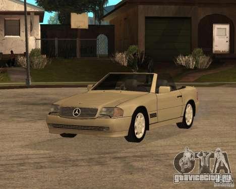 Mercedes-Benz 500SL для GTA San Andreas