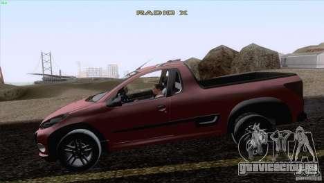 Peugeot Hoggar Escapade 2010 для GTA San Andreas вид слева