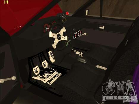 Volkswagen Saveiro Summer для GTA San Andreas вид сзади
