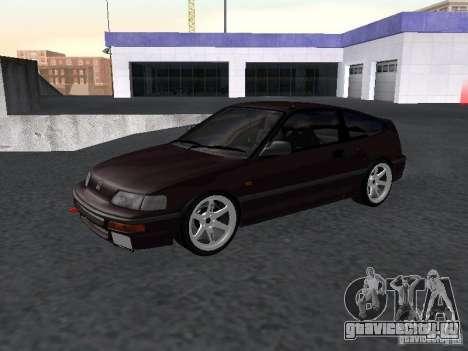 Honda Civic CRX JDM для GTA San Andreas вид слева