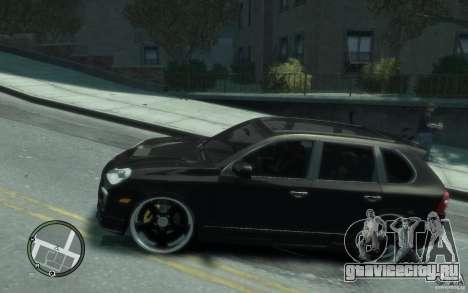 Porsche Cayenne для GTA 4 вид слева
