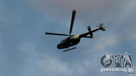 Helicopter Generation-GTA для GTA 4 вид сзади