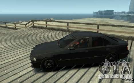 BMW M5 E39 для GTA 4 вид слева