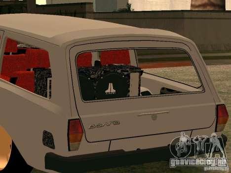 ГАЗ Волга 310221 для GTA San Andreas вид сзади слева