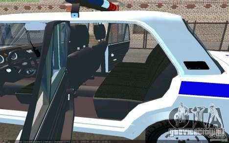 Ваз 2105 ППС Жигули для GTA San Andreas вид сзади слева