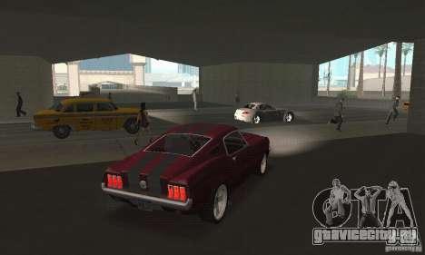 Ford Mustang 1968 для GTA San Andreas вид слева