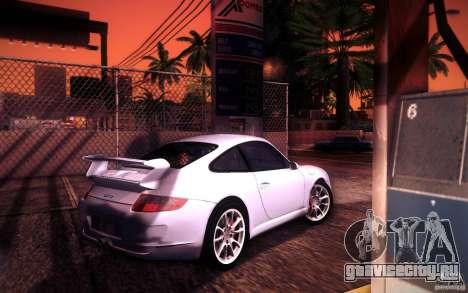 Porsche 911 GT3 (997) 2007 для GTA San Andreas вид сверху