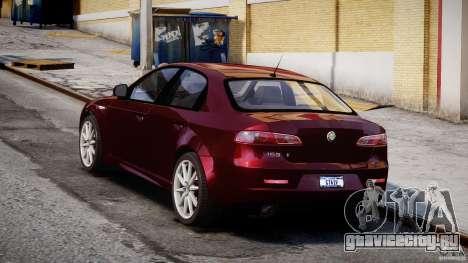 Alfa Romeo 159 Li для GTA 4 вид изнутри