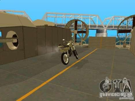 Мотоцикл Чезет для GTA San Andreas вид справа