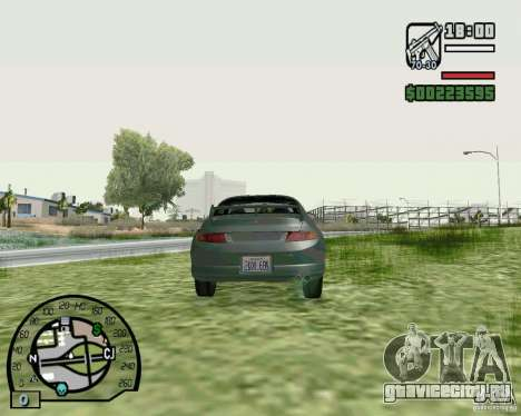 Mitsubishi FTO Stock для GTA San Andreas вид сзади слева
