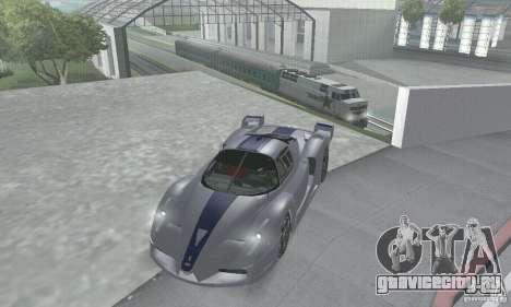Ferrari FXX для GTA San Andreas вид сбоку