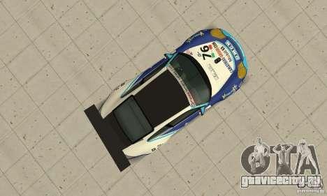 Porsche 911 Le GRID для GTA San Andreas вид справа