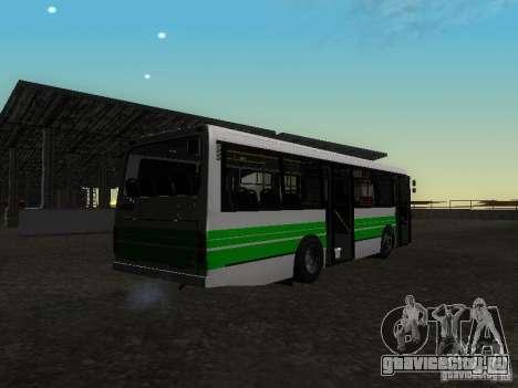 ЛАЗ 42021 КВР для GTA San Andreas вид слева