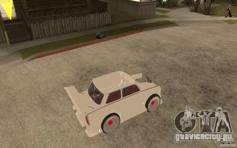 Trabant 601 Hardcore Tuning для GTA San Andreas вид справа