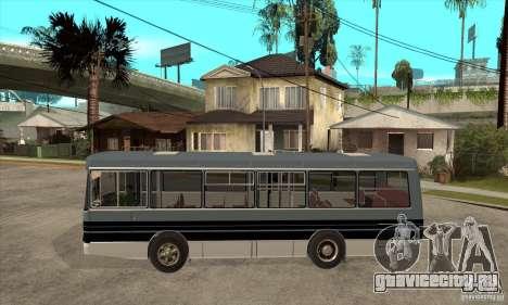 ЛАЗ 4202 для GTA San Andreas вид слева