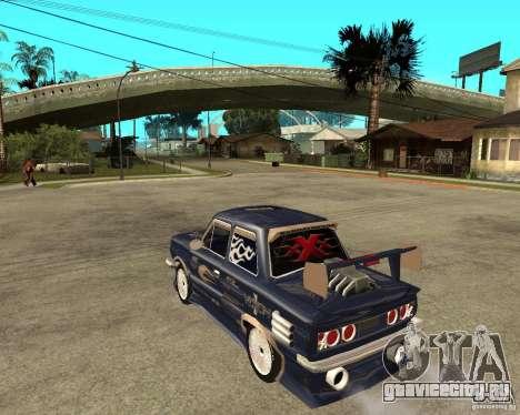 ЗАЗ - 968м STREET tune для GTA San Andreas вид слева