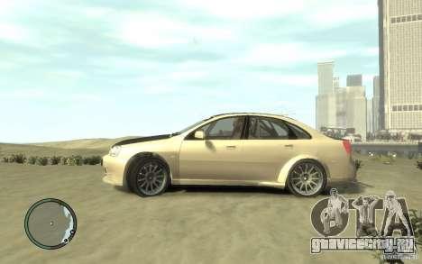 Chevrolet Lacetti Street Tune для GTA 4 вид слева