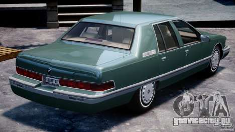 Buick Roadmaster Sedan 1996 v1.0 для GTA 4 двигатель