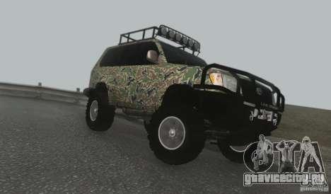Toyota Land Cruiser 100 Off Road для GTA San Andreas вид слева