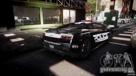 Lamborghini Gallardo LP570-4 Superleggera 2011 для GTA 4 вид сверху