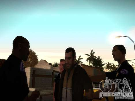 Niko Belliс New Stories для GTA San Andreas третий скриншот