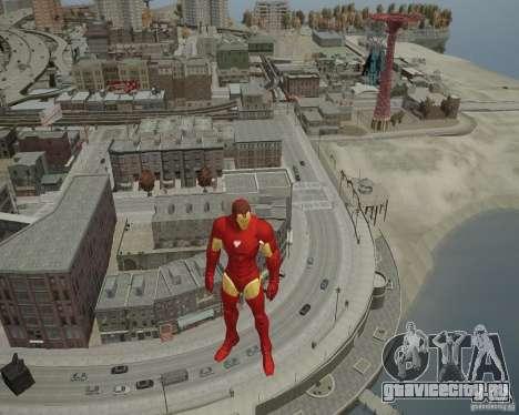 Iron Man Mk3 Suit для GTA 4 седьмой скриншот