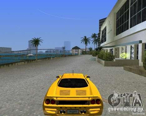 Saleen S7 для GTA Vice City вид сзади слева