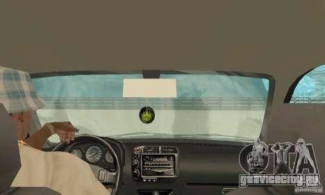 Honda-Superpromotion для GTA San Andreas вид изнутри