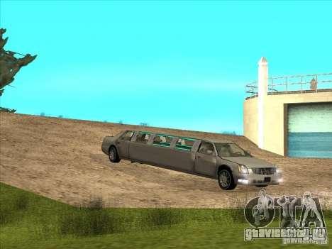 Cadillac DTS 2008 Limousine для GTA San Andreas