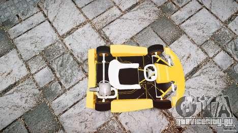 Karting для GTA 4 вид сбоку