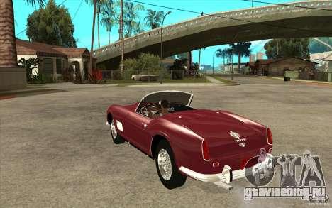Ferrari 250 California 1957 для GTA San Andreas вид сзади слева