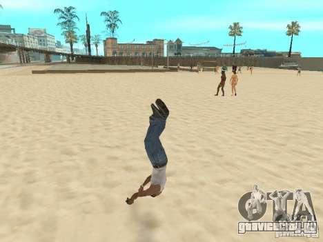 Parkour 40 mod для GTA San Andreas шестой скриншот