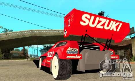Suzuki Escudo Pikes Peak V2.0 для GTA San Andreas вид сзади слева