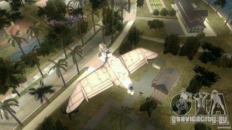 The Valley Gunship для GTA Vice City вид сзади слева