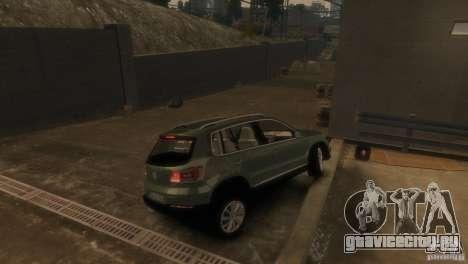 Volkswagen Tiguan для GTA 4 вид сзади слева